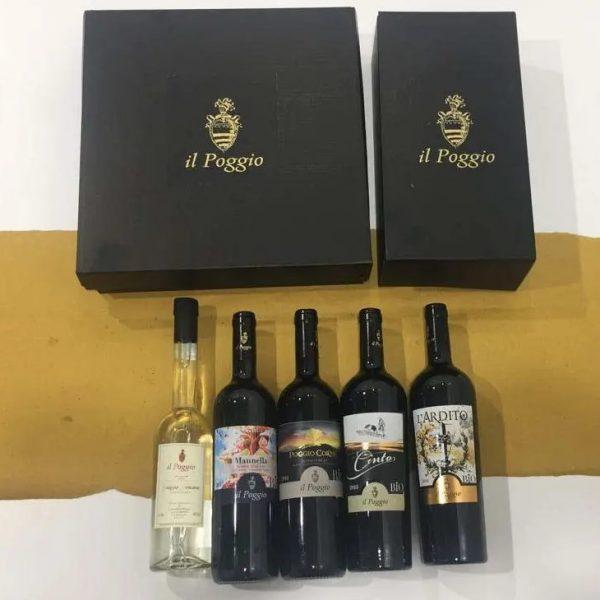 Confezione regalo Tutto Bio e Grappa Toscana
