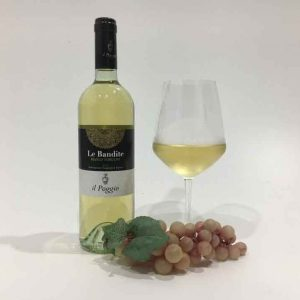 Bianco Toscano IGT 'Le Bandite', vino bianco toscano.
