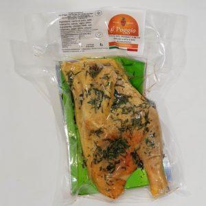 Pollo Free Range del Poggio Metà confezionato in Box da 0,7 kg Sottovuoto