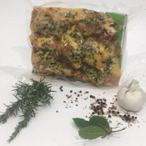 Pollo Free Range del Poggio metà confezionato in Box in Parti da 0,7 kg Sottovuoto