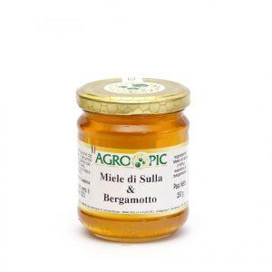 Miele aromatizzato al bergamotto 250 gr.