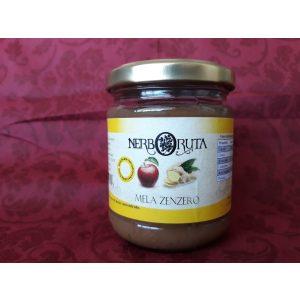 Composta di mela e zenzero 100% naturale