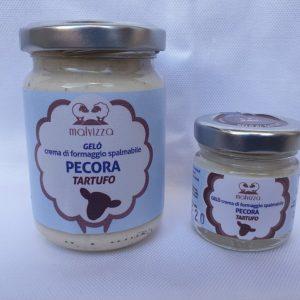Crema di formaggio spalmabile di pecora al tartufo GELO