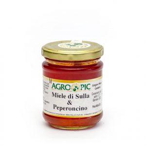 Miele al Peperoncino Mielpic 250 gr.