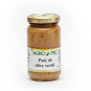 Patè di olive verdi 200 gr.