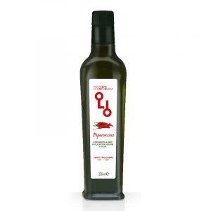 Olio di oliva al peperoncino