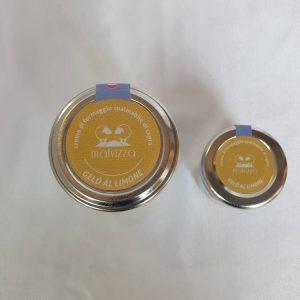Crema di formaggio spalmabile di capra al limone GELO
