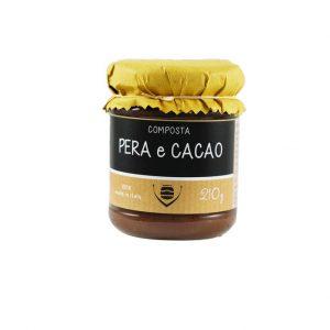 Composta di pera e cacao
