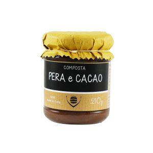 composta di pere e cacao