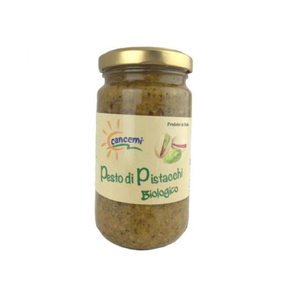Pesto di pistacchio siciliano biologico