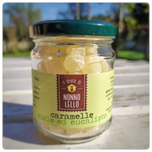 Caramelle miele ed eucalipto