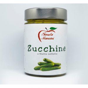 Zucchine a filetti sott'olio