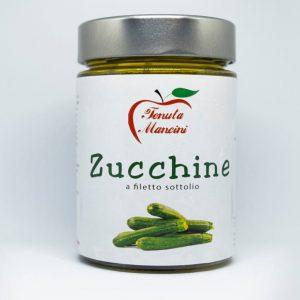 Zucchine a Filetto Sott'Olio