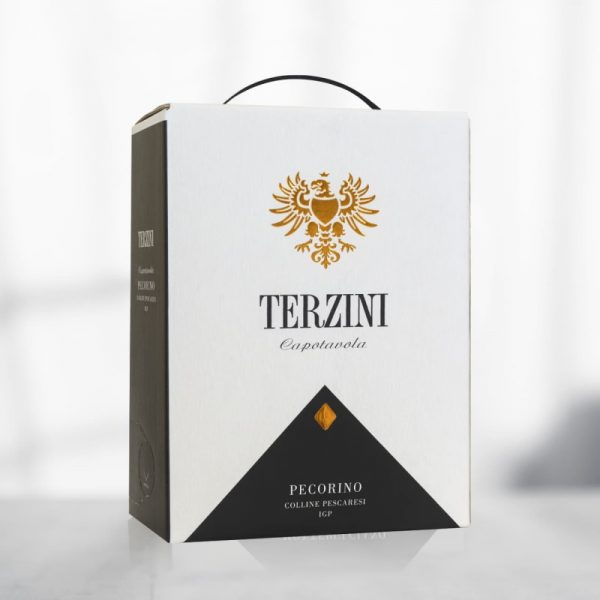 vino pecorino bag in box