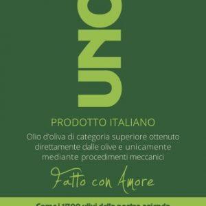 Olio Extra Vergine di Oliva BIO UNO.7 5 L