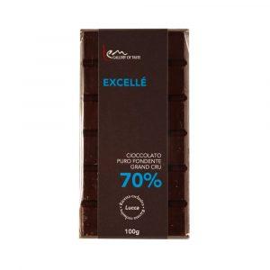 Tavoletta di puro cioccolato fondente Grand Cru