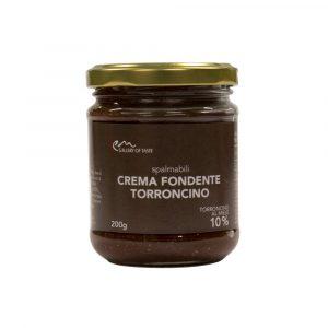 Spalmabile Fondente con Nocciola Piemonte IGP e Torroncino