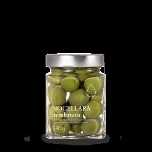 Olive Nocellara in salamoia