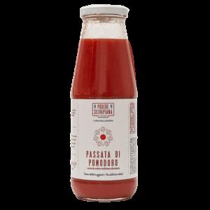 Passata di pomodoro in bottiglia