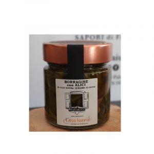 Borragine in olio d'oliva