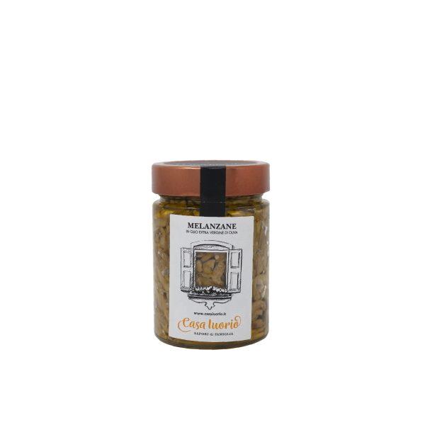 melanzane sott'olio artigianali