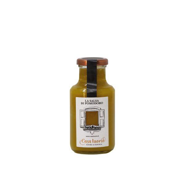salsa di datterini gialli